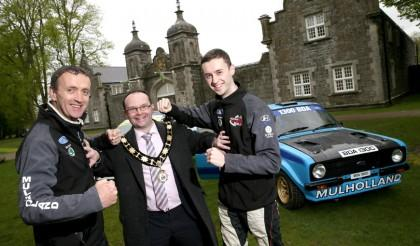 Battle of the Mulholland's as Council announce sponsorship of John Mulholland Motors Ulster Rally